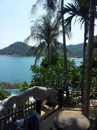 Panviman Resort - Koh Pha Ngan: View to our right