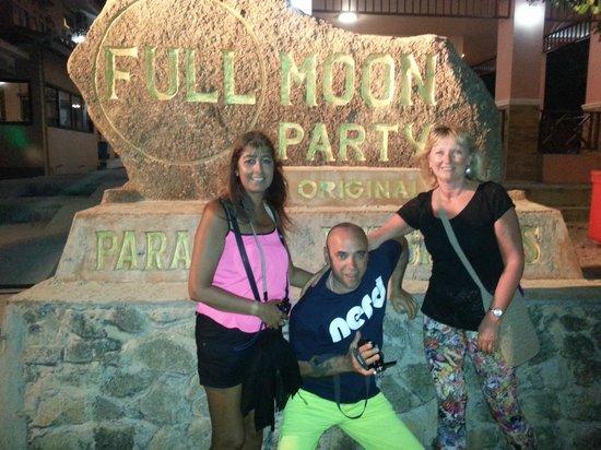 Panviman Resort - Koh Pha Ngan : Haad Rin Full Moon Party.