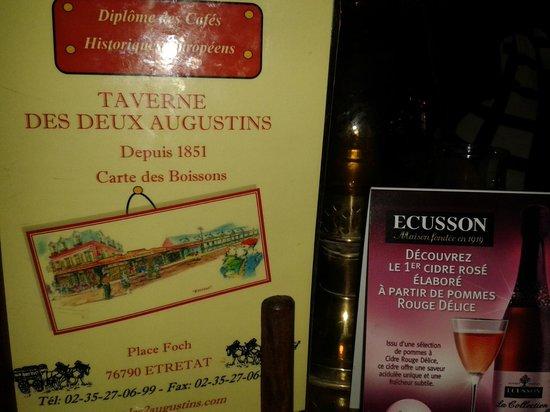 La Taverne des deux Augustins: Adresse