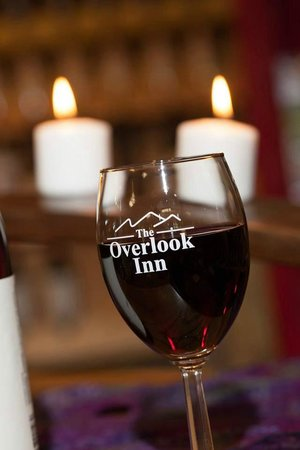 The Overlook Inn Bed and Breakfast: Many Different Wines Available at The Overlook Inn!
