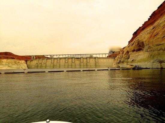 Glen Canyon Dam : Vu