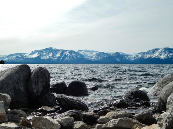 Lake Tahoe Area: Looking West