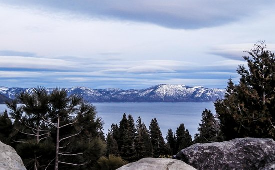 Lake Tahoe Area: Looking East
