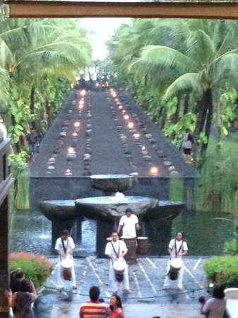 The St. Regis Bali Resort: A stunning fire dance every night.
