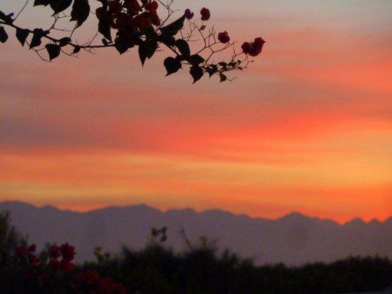 Dar Tasmayoun : Coucher du soleil