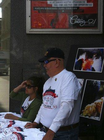 National September 11 Memorial und Museum: Un soldat du feu rescapé témoigne