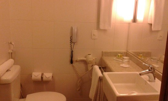 Novotel RJ Santos Dumont: Bathroom