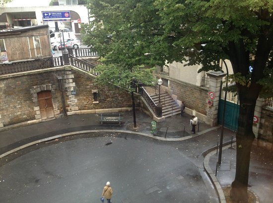 Citadines Montmartre Paris: Vista desde la habitación