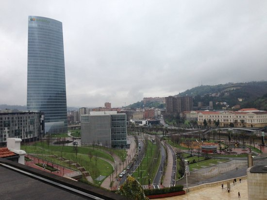 Gran Hotel Domine Bilbao: Vista do café da manhã