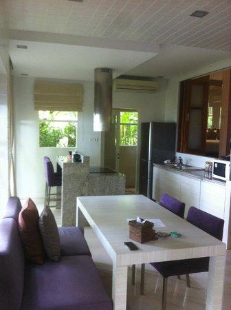 Punnpreeda Pool Villa Beachfront : cucina