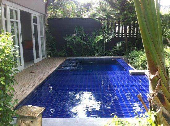 Punnpreeda Pool Villa Beachfront : piscina