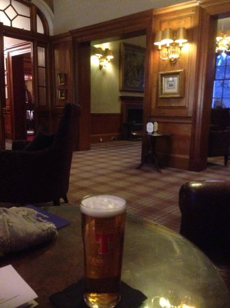 Dunkeld House Hotel: Nice view.