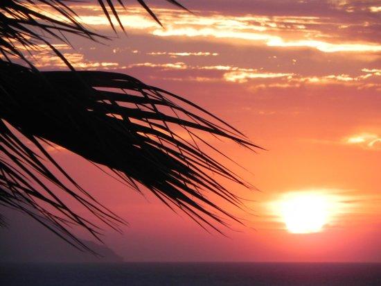 Savoy Sharm El Sheikh: sunset at the balcony