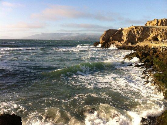 Sutro Baths : Spectacular views and sea spray