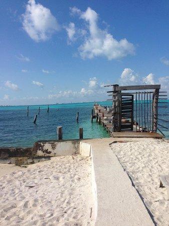 Maria's Kan-kin: Bill's fishing spot!