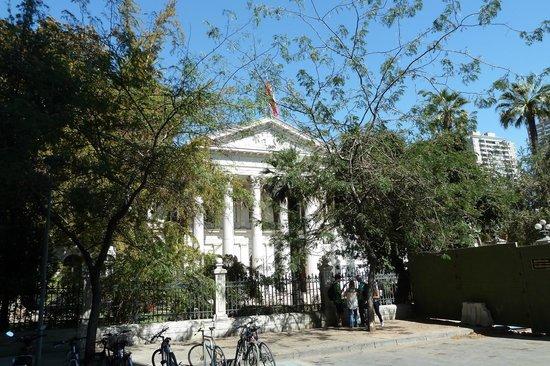 Ex Congreso Nacional: Etwas versteckt: der frühere Nationalkongress von Chile