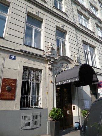 Hotel Altstadt Vienna: Frontage of Hotel