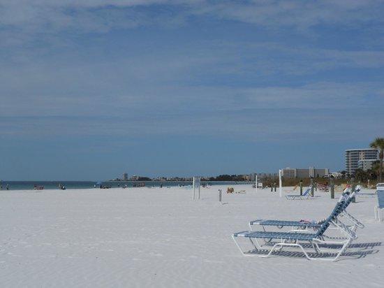Crescent Tower Beachfront : Beach view