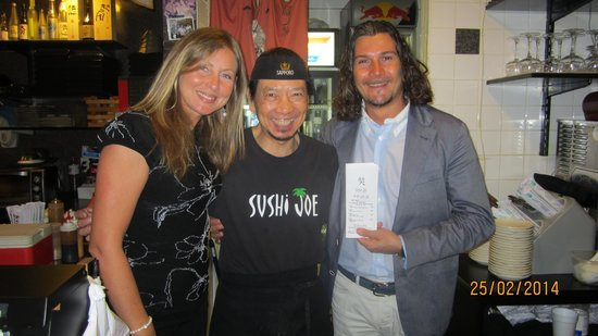 Sushi Joe: Noi con lo schef