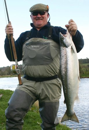 Ballyduff, Ιρλανδία: A fine spring salmon in March