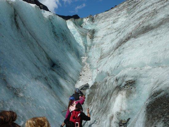 Franz Josef Glacier: Climbing the glacier