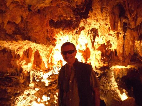 Luray Caverns: yo y las bellezas