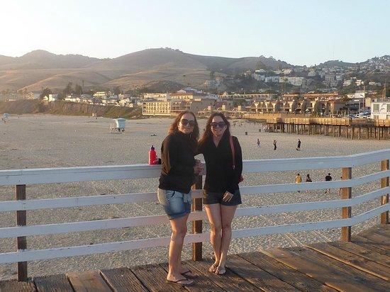 Pismo Pier: Tarde maravilhosa em Pismo Beach