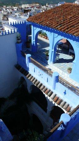 Casa Perleta: Sitio donde se desayuna al sol !!!