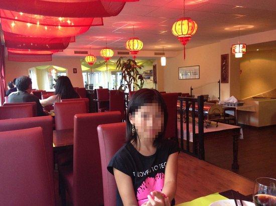 Le Palais de Chine: 1.8.2013 avec ma famille
