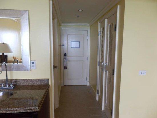 Hilton Barbados Resort: our door