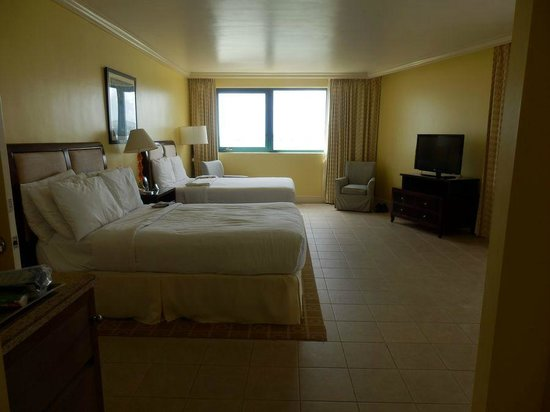 Hilton Barbados Resort: Double beds