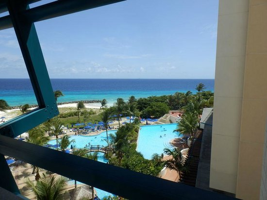 Hilton Barbados Resort: Lovely weather that day