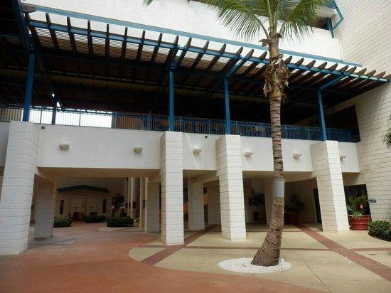 Hilton Barbados Resort: Hotel terrein