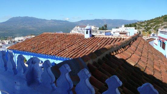 Casa Perleta: terraza desayuno !!