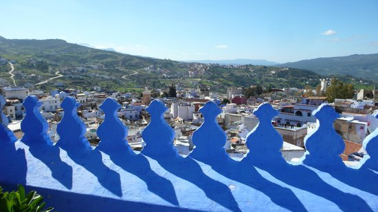 Casa Perleta: la ciudad desde la terraza