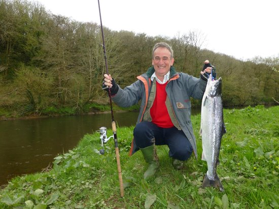 Balliduff, Irland: A fine April fish