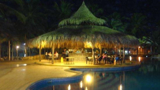 Isla Caribe Beach Hotel : el bar de la piscina real