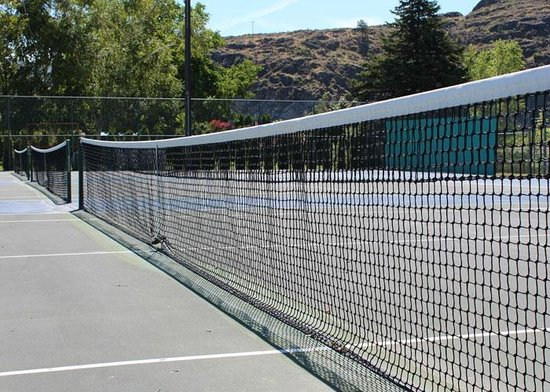 Howard's Lakeshore Inn: Tennis Courts