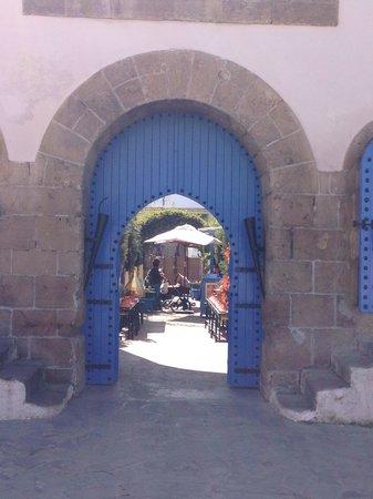 Restaurant Cafe La SQALA : Entrada al restaurante