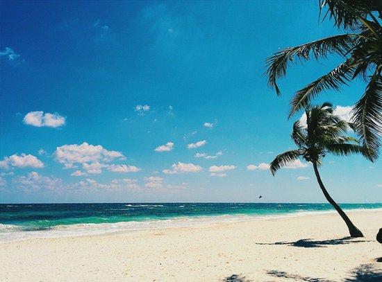Cabanas Tulum : The beach