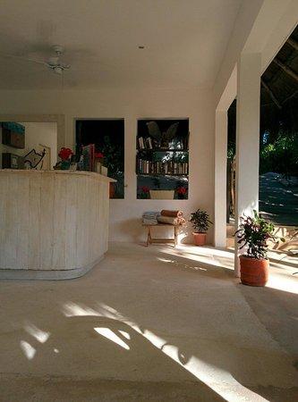Cabanas Tulum : Lobby
