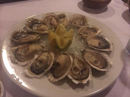 Restaurant Casavaldes: ostras