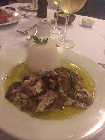 Restaurant Casavaldes: kokotxas