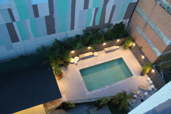 Punthill Brisbane : Pool from 10th Floor