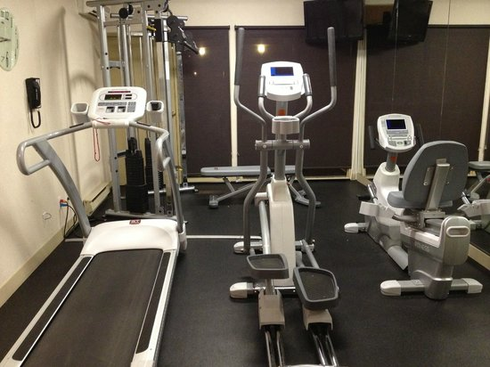 Best Western Laval-Montreal : gym