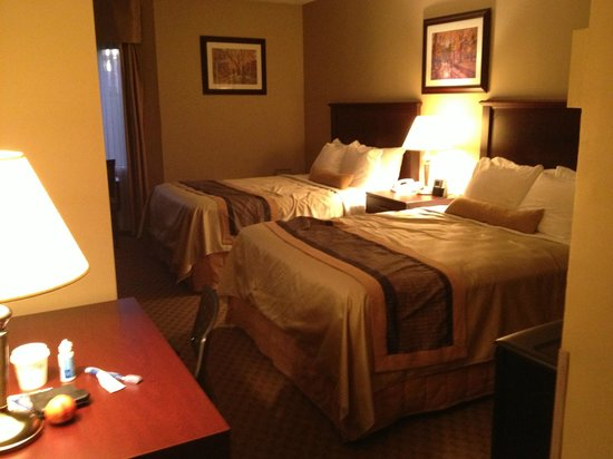 Best Western Laval-Montreal : chambre 2 lits