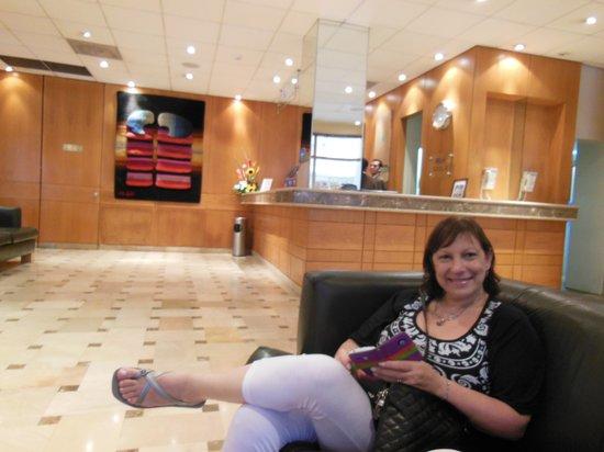 Grand Hotel Guayaquil: El hall de entrada