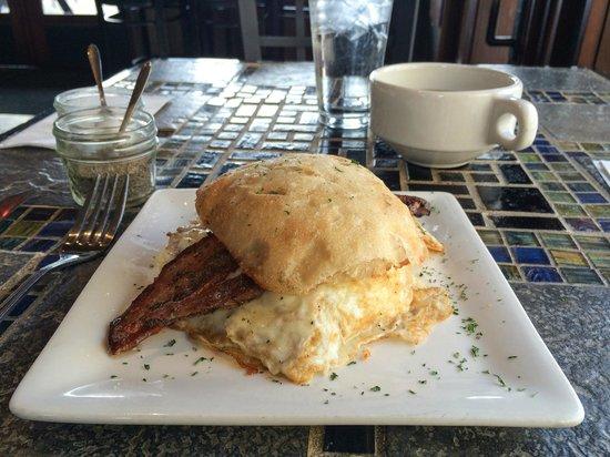Paramount: Breakfast Sandwich w/Bacon!