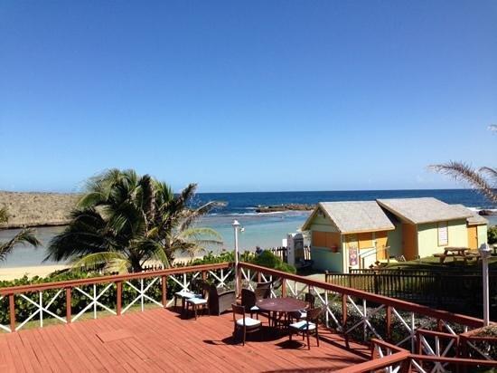 Parador Villas del Mar Hau: View from the resturant