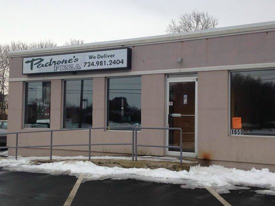 Padrone's Pizza of hermitage: store front